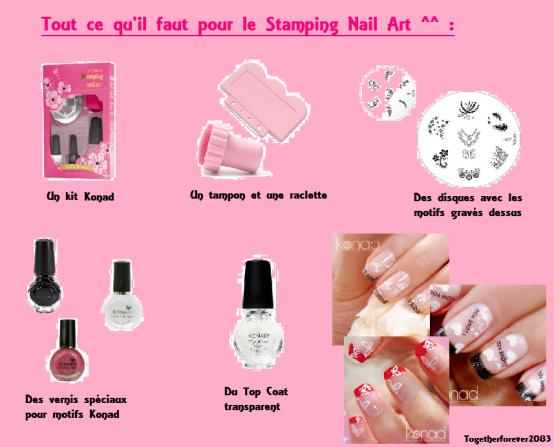 Le nail facile et a faire sois m me avec stamping nail art de konad toget - Dessin ongle facile faire sois meme ...
